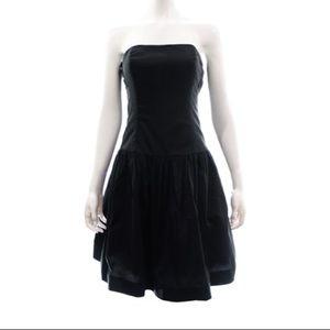 Lilly Pulitzer Black Strapless Dress